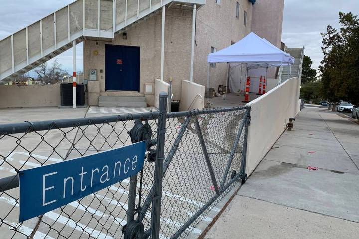 (Hali Bernstein Saylor/Boulder City Review) The Elaine K. Smith Building is one of two sites in ...