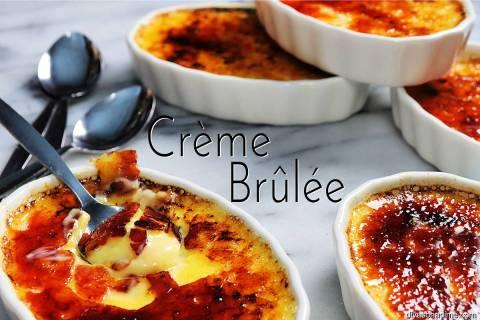 (Patti Diamond) Creme brulee, a creamy velvety custard with a glasslike carmelized sugar top, m ...