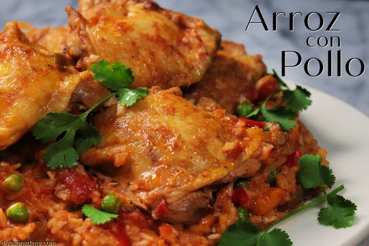 (Patti Diamond) Arroz con pollo, literally rice with chicken, is a simple, one-pot dish that ge ...