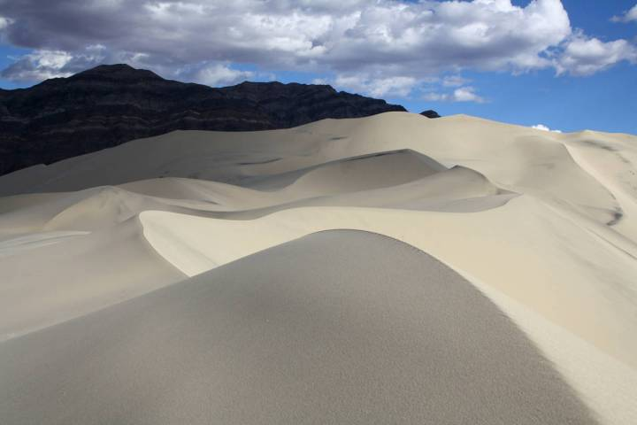 (Deborah Wall) Eureka Dunes in Death Valley National Park in California are about 3 miles long ...