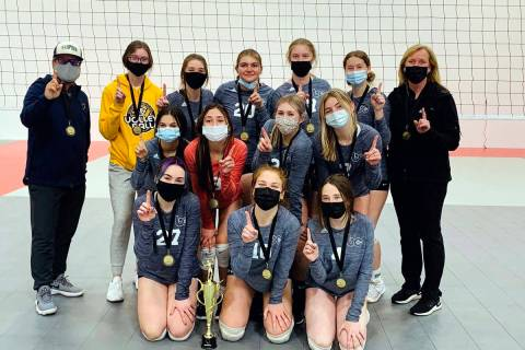 Char Johnson The BC Juniors earned first place at the Nevada Volleyball Center Challenge in Nor ...