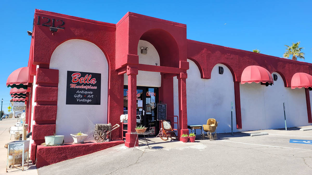 (Celia Shortt Goodyear/Boulder City Review) Bella Marketplace, 1212 Wyoming St., has seen an in ...
