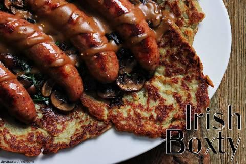 (Patti Diamond) For St. Patrick's Day, try an Irish boxty, a potato pancake made with a mix o ...