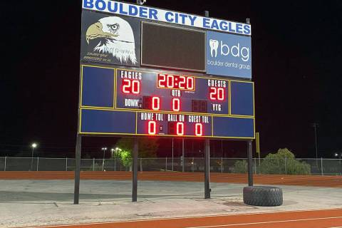 Student athletes are expected to resume practice and play at Boulder City High School later thi ...
