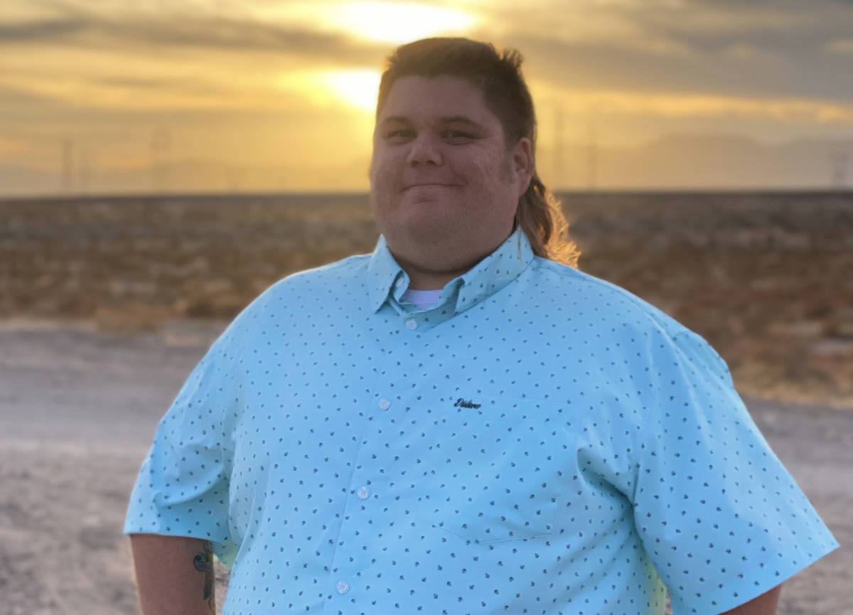 (Zachary Cummings) Boulder City resident Zachary Cummings filed his paperwork Feb. 4, 2021, to ...