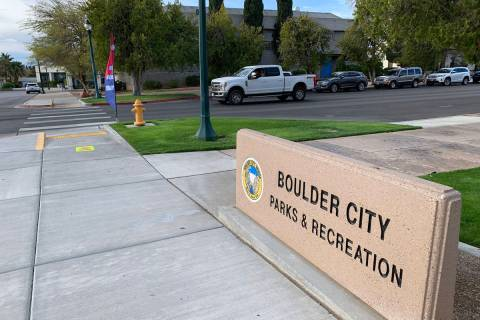(Hali Bernstein Saylor/Boulder City Review) Early voting in the 2021 City Council race continue ...