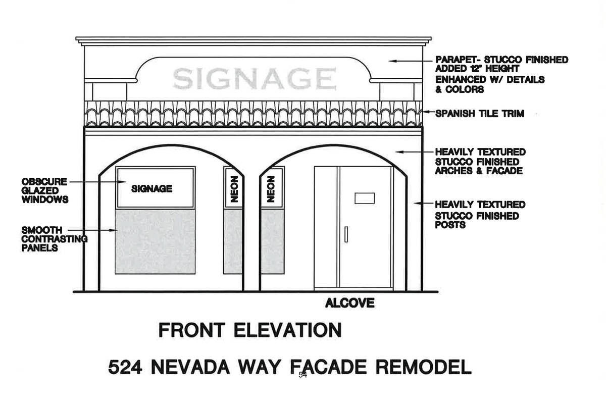 Boulder City New owners Larry and Grant Turner are renovating the former antique store at 524 N ...