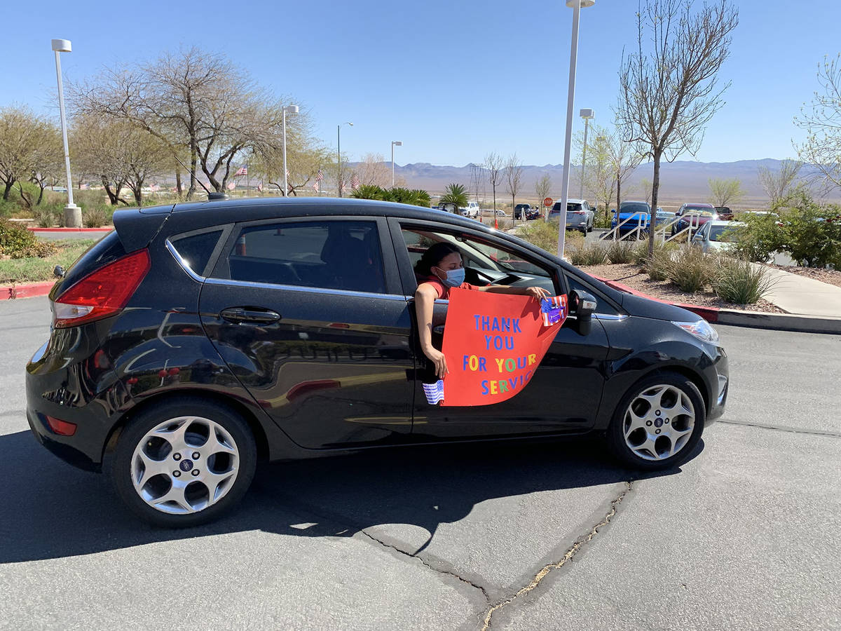 (Hali Bernstein Saylor/Boulder City Review) A participant in a parade at the Southern Nevada St ...