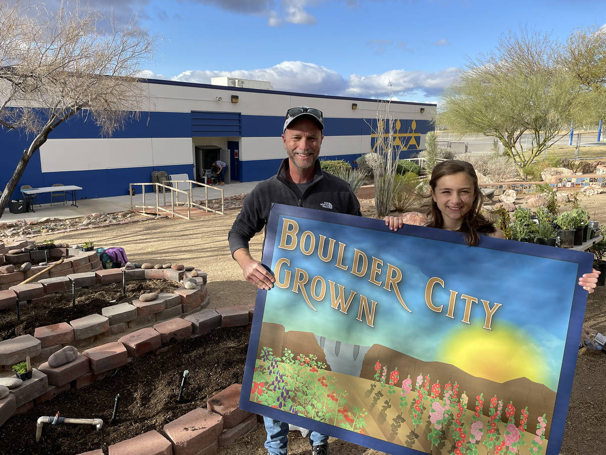 King Elementary School King Elementary School counselor Brian Bradshaw and Malley Jobin show of ...