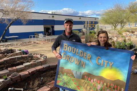 King Elementary School King Elementary School counselor Brian Bradshaw and Malley Jobin show of ...