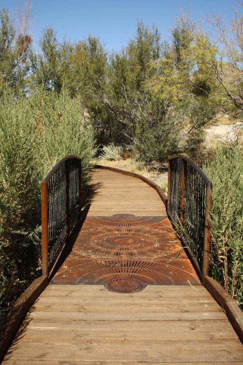 (Deborah Wall) There is a quarter-mile looping boardwalk trail at the Point of Rocks Springs ar ...