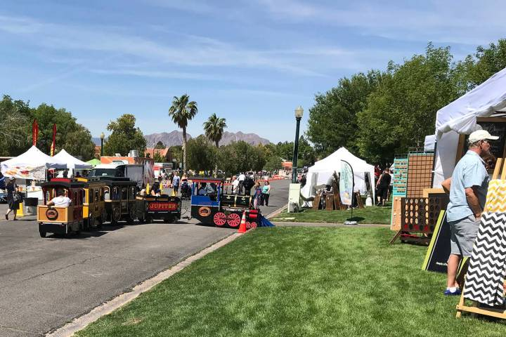 Spring Jamboree, presented by the Boulder City Chamber of Commerce, will be the first large-sca ...