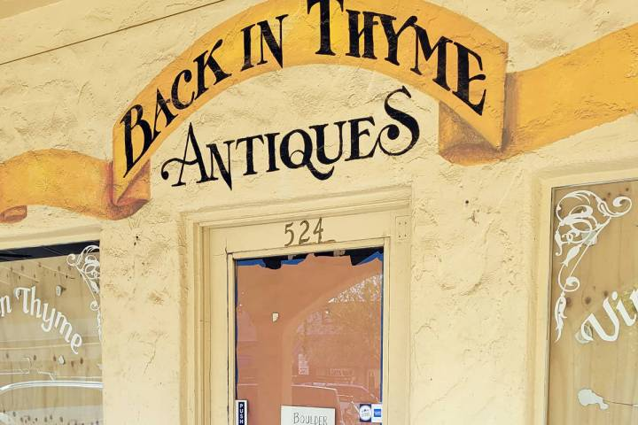 New owners Grant and Larry Turner are turning the former antique store at 524 Nevada Way into a ...