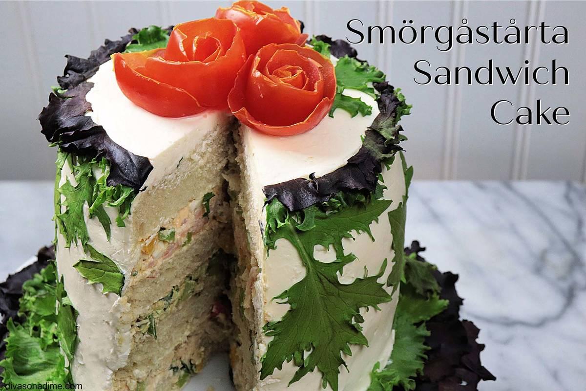 (Patti Diamond) A smörgåstårta turns an ordinary sandwich into something special ...