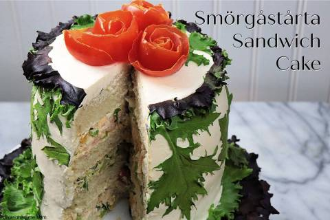 (Patti Diamond) A smörgåstårta turns an ordinary sandwich into something special ...