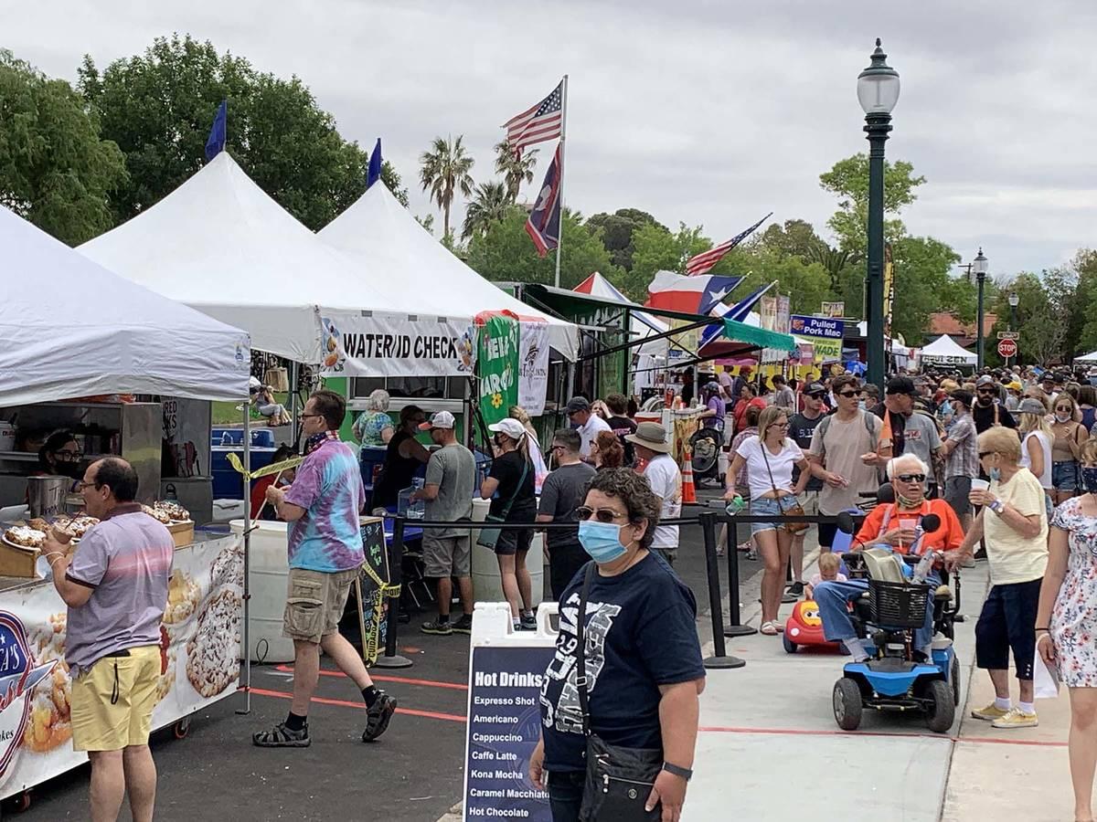 (Hali Bernstein Saylor/Boulder City Review) Spring Jamboree, held Saturday and Sunday, May 1 an ...