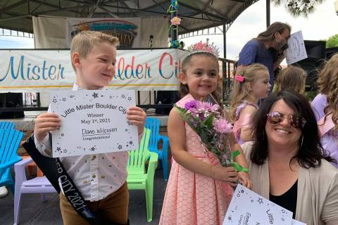 (Hali Bernstein Saylor/Boulder City Review) Little Mister Boulder City Dane Wilcoxen and Little ...