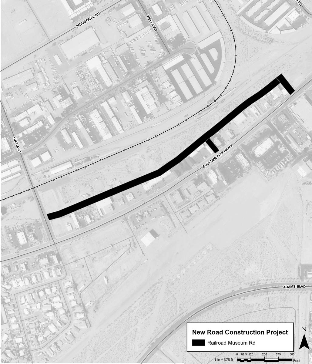 The city is holding a public meeting from 4-5:30 p.m. today about the access road for the propo ...
