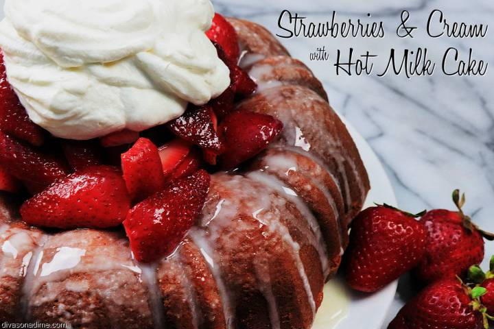 (Patti Diamond) A dish of strawberries and cream is an ideal way to celebrate spring. Topping a ...