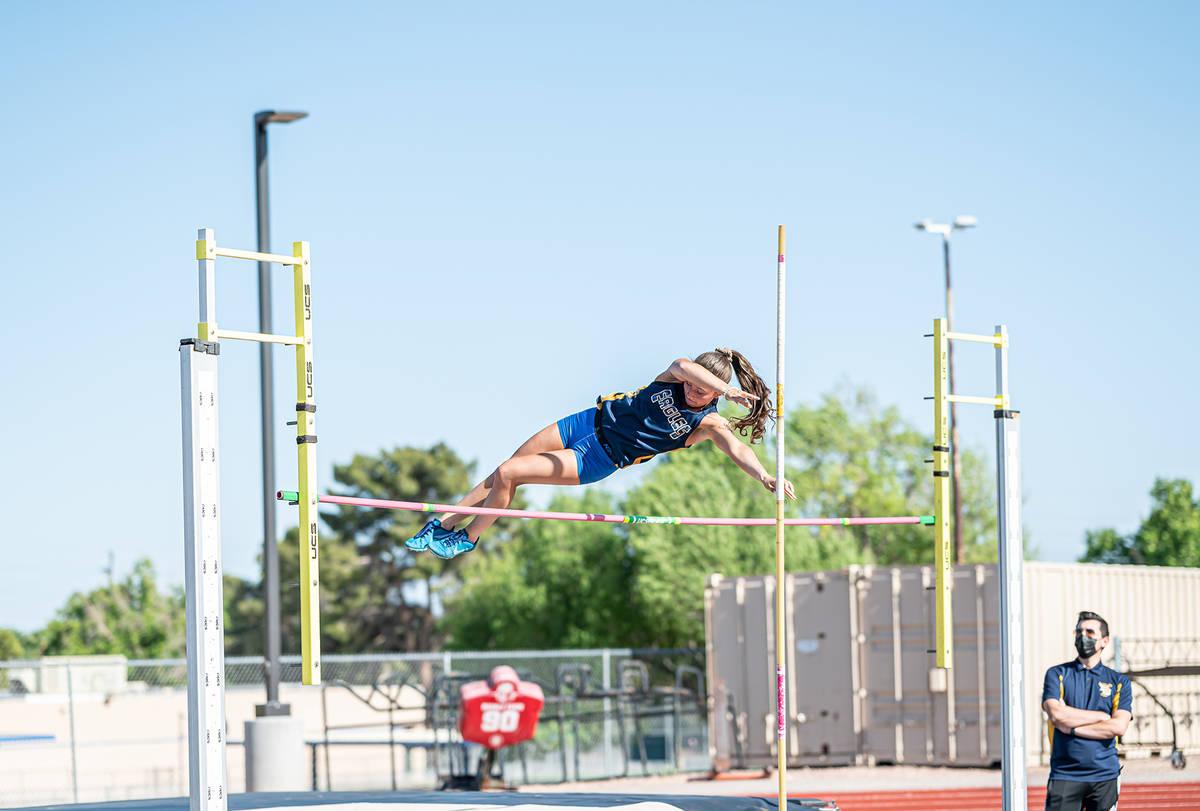 (Jamie Jane/Boulder City Review) Boulder City High School senior Christina Dunagan, seen May 7, ...