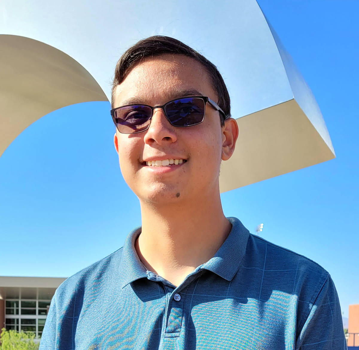 (Celia Shortt Goodyear/Boulder City Review) Jamison Kaboli, valedictorian