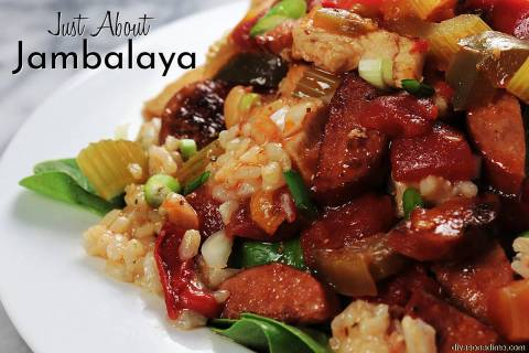 (Patti Diamond) Based on a classic Creole dish, this Just About Jambalaya is easy to prepare an ...