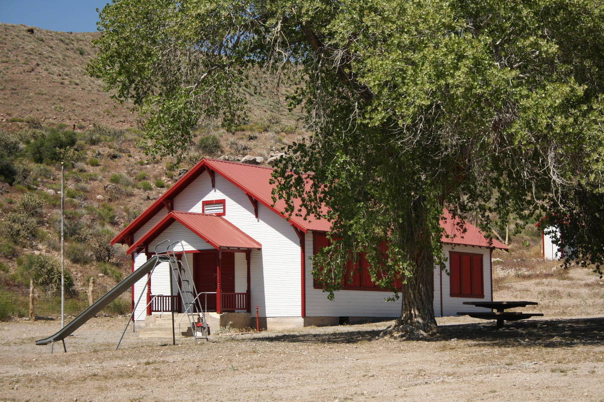 (Deborah Wall) The Elgin Schoolhouse is about 18 miles south of Kershaw-Ryan State Park. The on ...