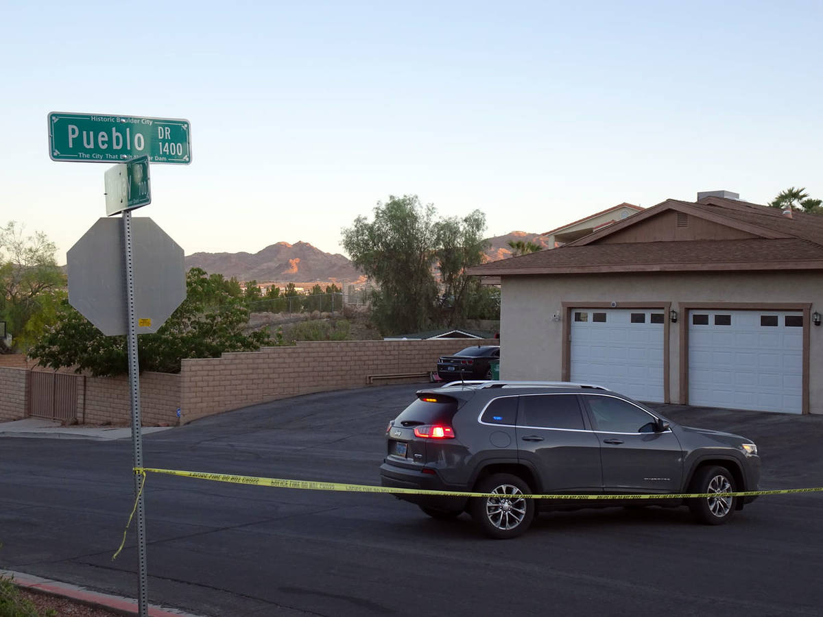 Eric Lundgaard Boulder City Police are investigating a shooting that took place Monday, May 31, ...
