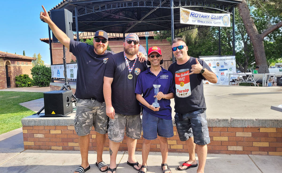 Celia Shortt Goodyear/Boulder City Review YSB BBQ of Scottsdale, Arizona, was crowned the grand ...