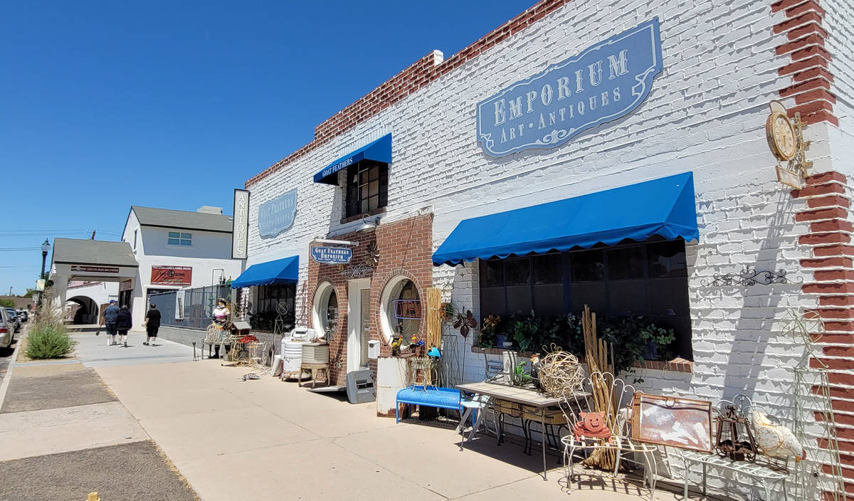 Celia Shortt Goodyear/Boulder City Review Local business is continuing to grow and those who op ...