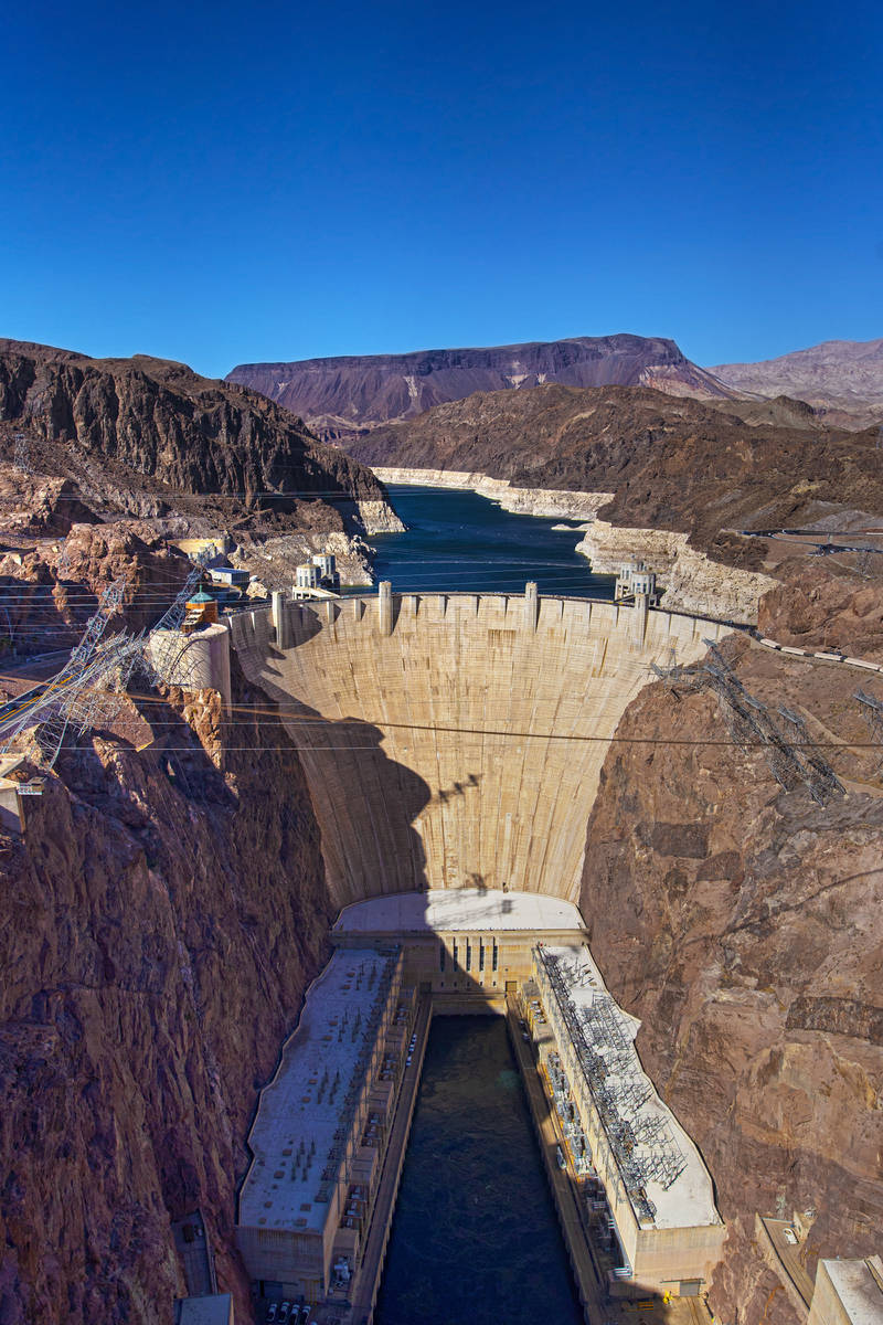 (Benjamin Hager/Las Vegas Review-Journal) Lower water levels at Lake Mead are diminishing the a ...