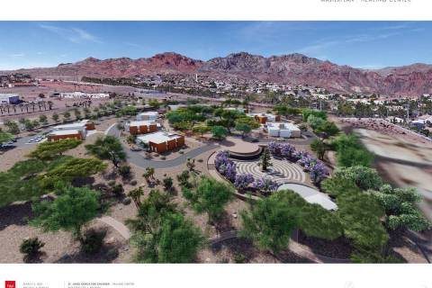 Boulder City Officials with St. Jude's Ranch for Children in Boulder City hope to break ground ...
