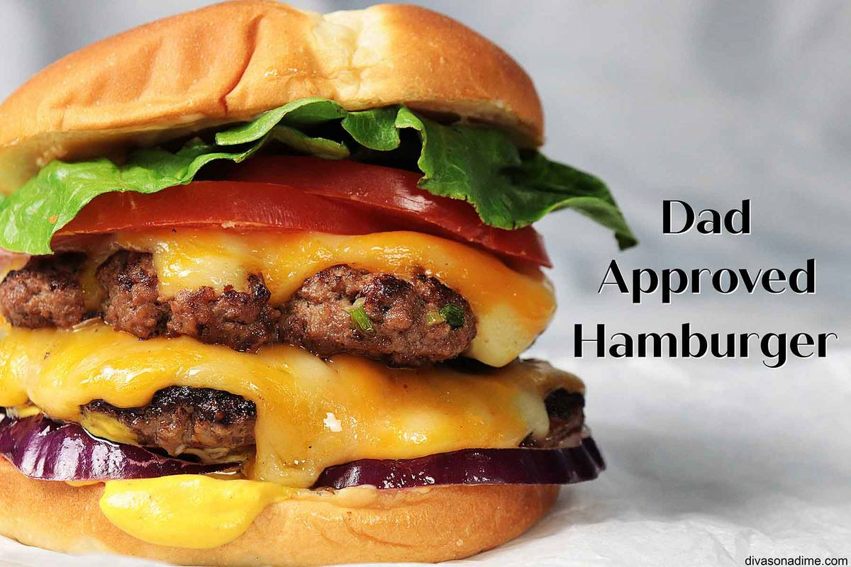 (Patti Diamond) A juicy, homemade hamburger dripping with cheese and dressed with your favorite ...