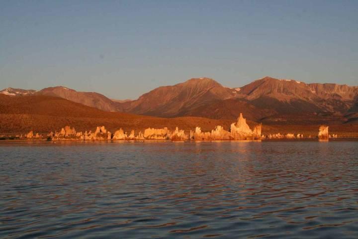 (Deborah Wall) Mono Lake Tufa State Natural Reserve was created to protect the tufa formations ...
