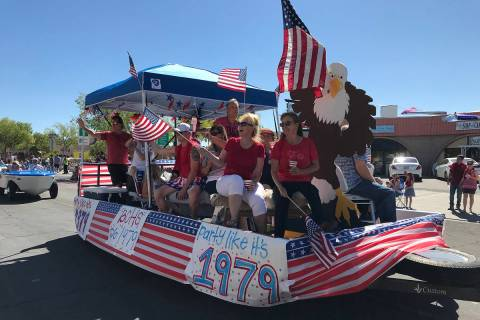 This year's Fourth of July Damboree parade will take place downtown beginning at 9 a.m. Saturday.