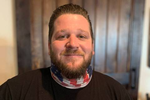 (Hali Bernstein Saylor/Boulder City Review) Mathew Fox is a candidate running for City Council ...