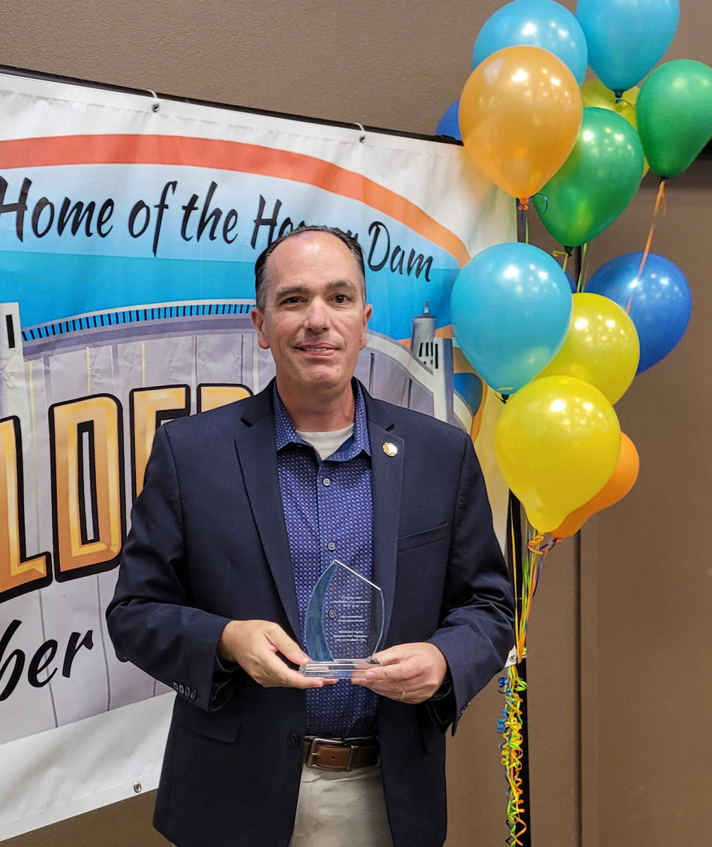 (Pam Leon/Boulder City Chamber of Commerce) Michael Mays, Boulder City's acting city man ...