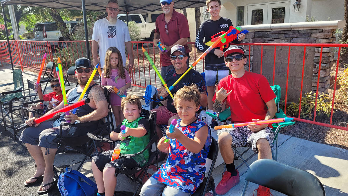 Celia Shortt Goodyear/Boulder City Review The annual Damboree parade features a water play sect ...