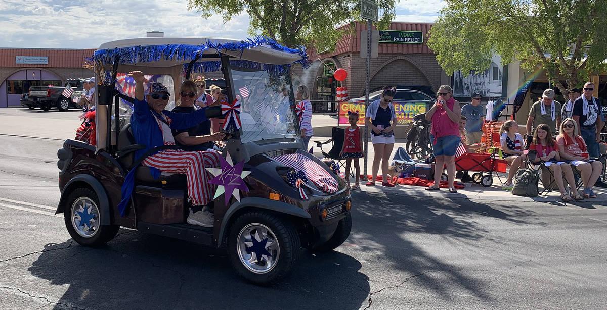 (Hali Bernstein Saylor/Boulder City Review) Kasimer Cusak rode in the annual Damboree parade in ...