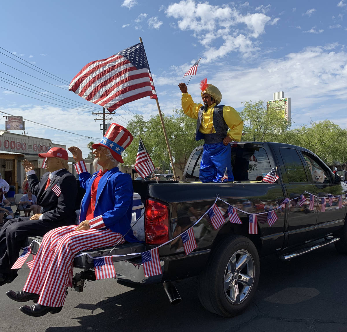 (Hali Bernstein Saylor/Boulder City Review) Characters Unlimited of Boulder City brought some f ...