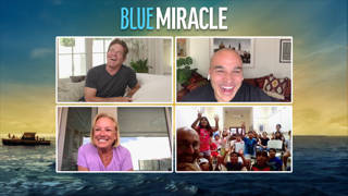 """(Donna Saunders) The stars of Netflix's new film """"Blue Miracle,"""" Dennis Qu ..."""