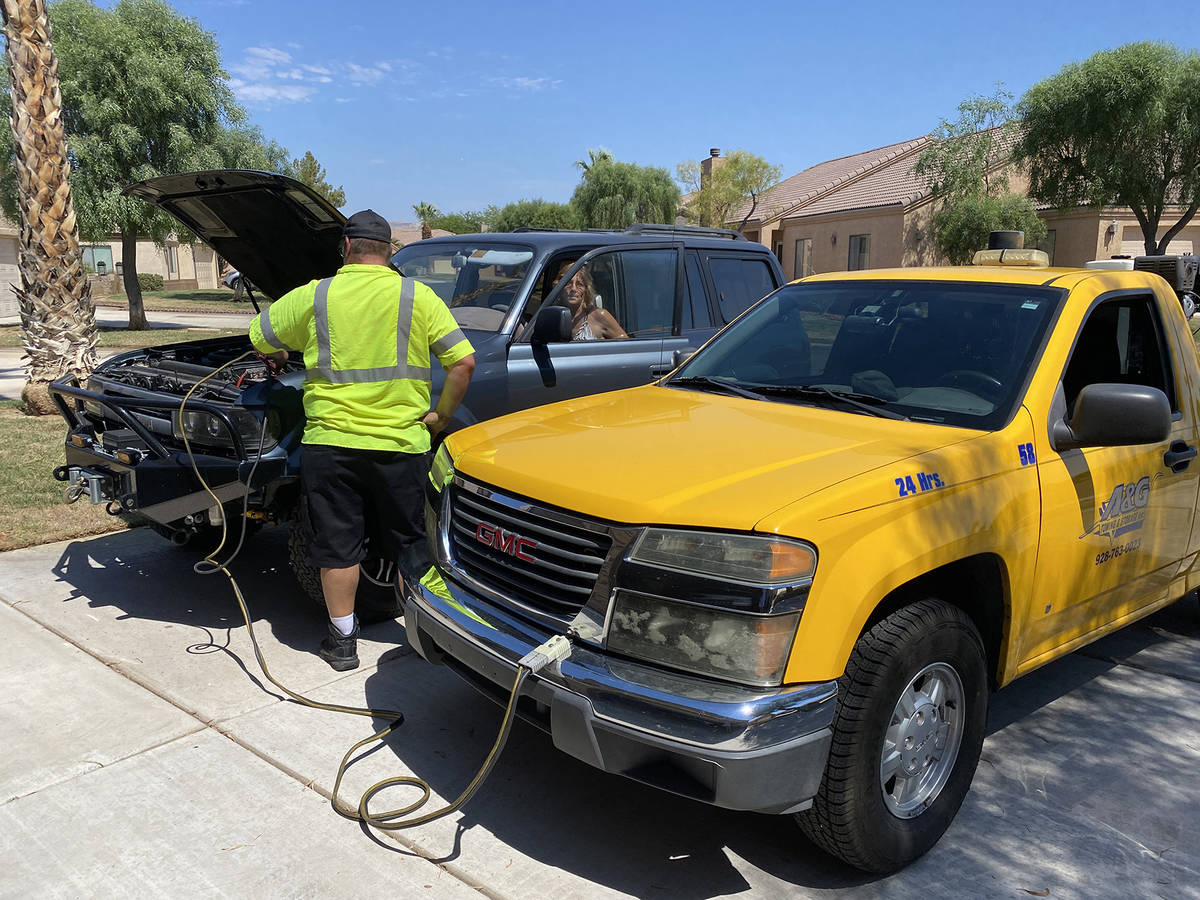 (Norma Vally) Southern Nevada's high temperatures can drain the life out of a car batter ...