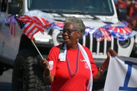Celia Shortt Goodyear/Boulder City Review Longtime Boulder City resident Denise Ashurst is runn ...