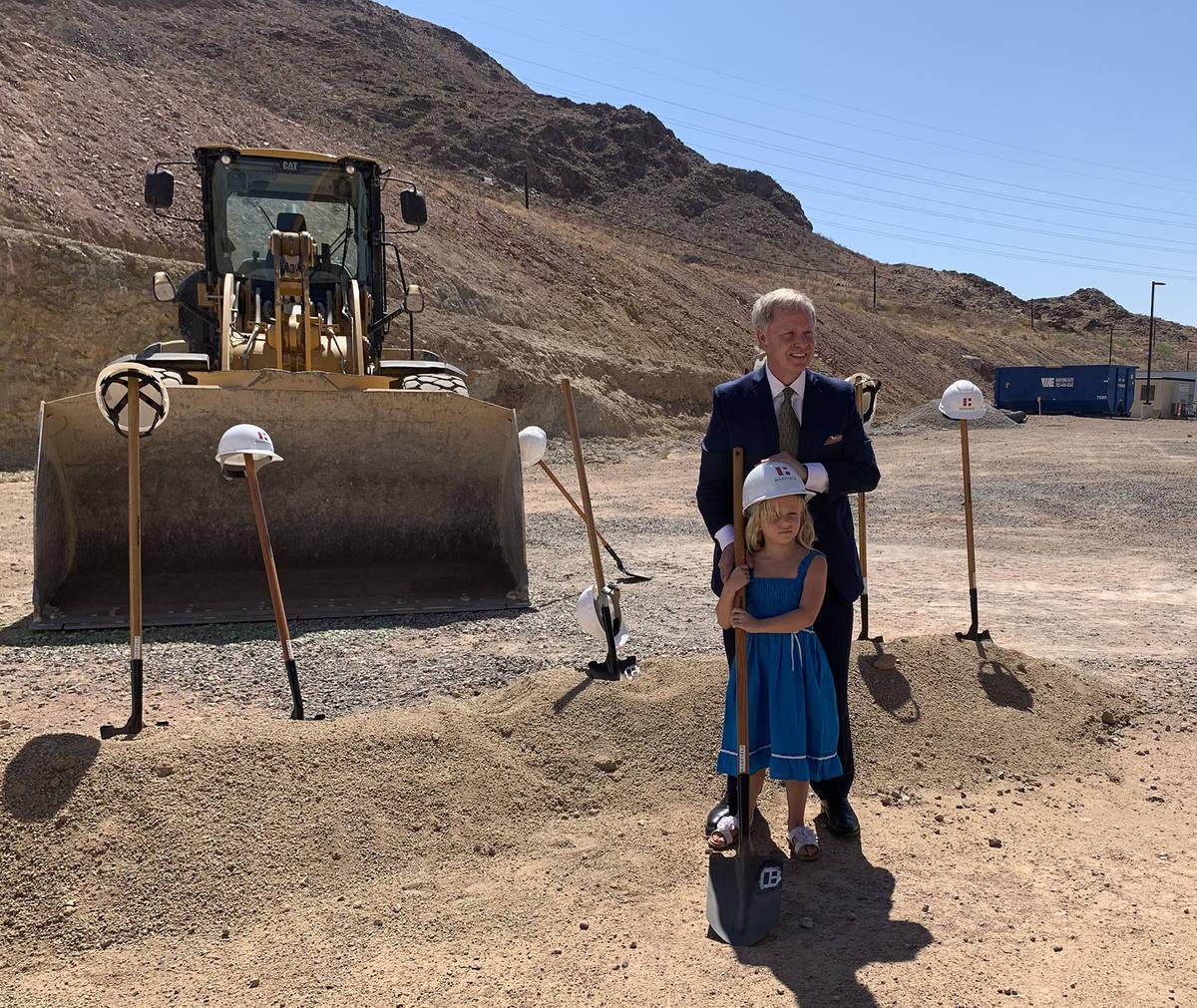 (Hali Bernstein Saylor/Boulder City Review) Joe DeSimone, owner of the Railroad Pass, poses for ...