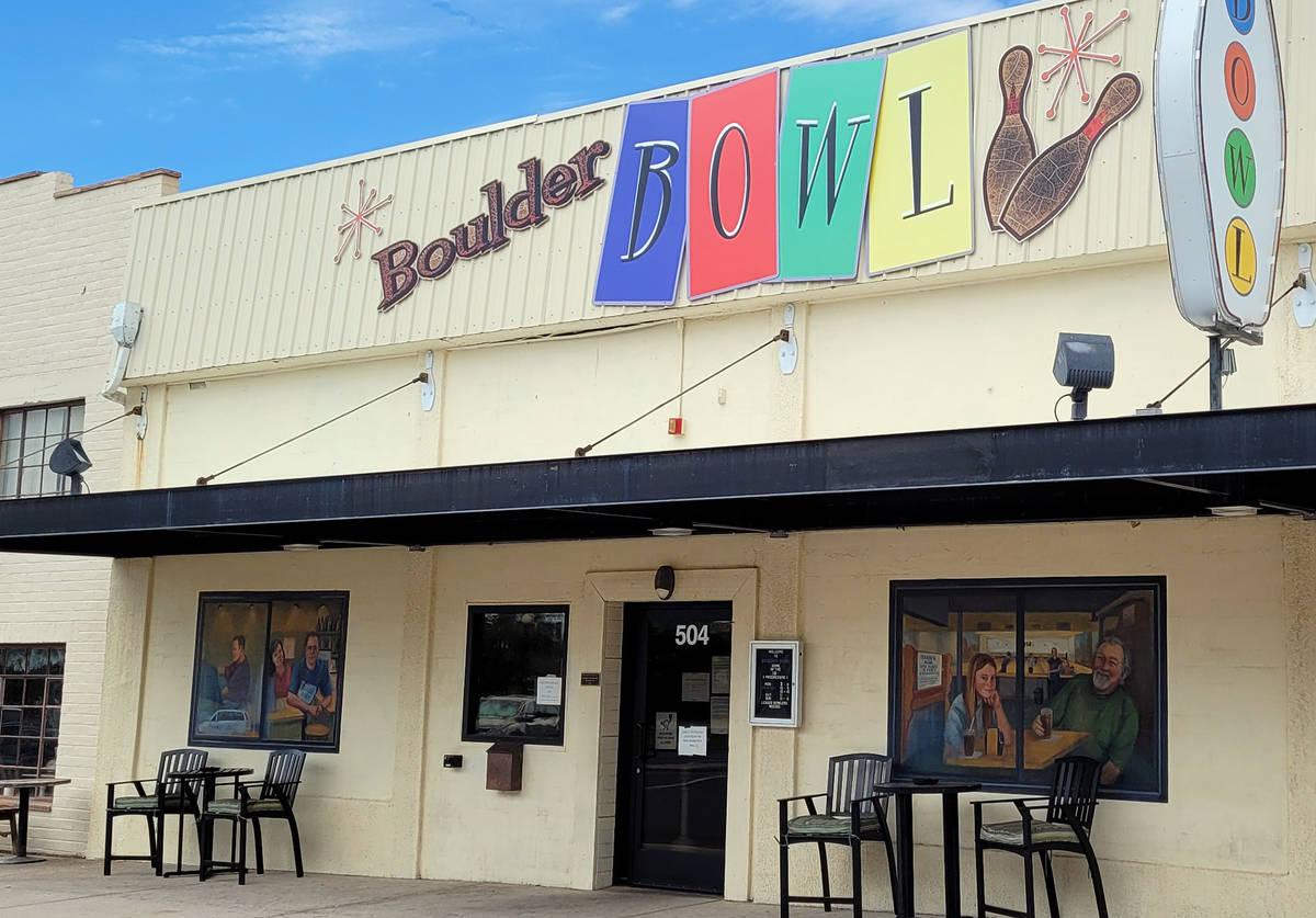 Celia Shortt Goodyear/Boulder City Review Boulder Bowl, 504 California Ave., offers open bowlin ...