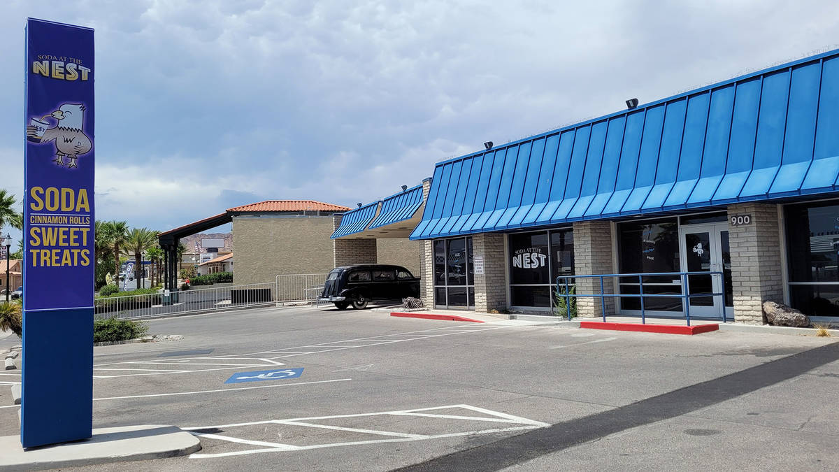 Celia Shortt Goodyear/Boulder City Review Soda at the Nest, 900 Nevada Way, is one of several p ...