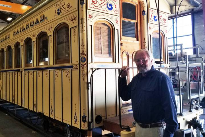 Nevada State Railroad Museum Director Randy Hees is retiring and moving to Little Rock, Arkansa ...