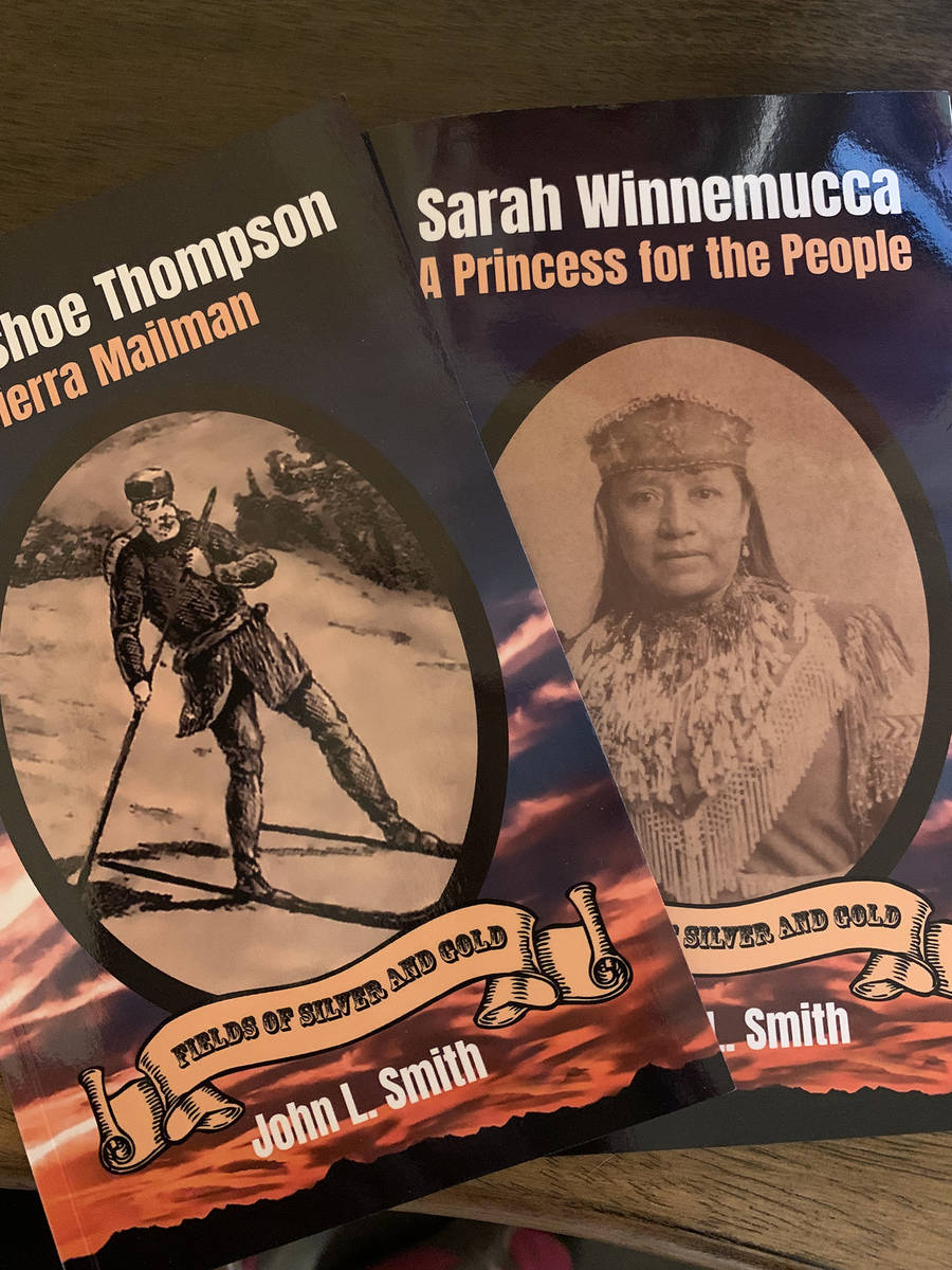 (Hali Bernstein Saylor/Boulder City Review) Boulder City resident and author John L. Smith is p ...