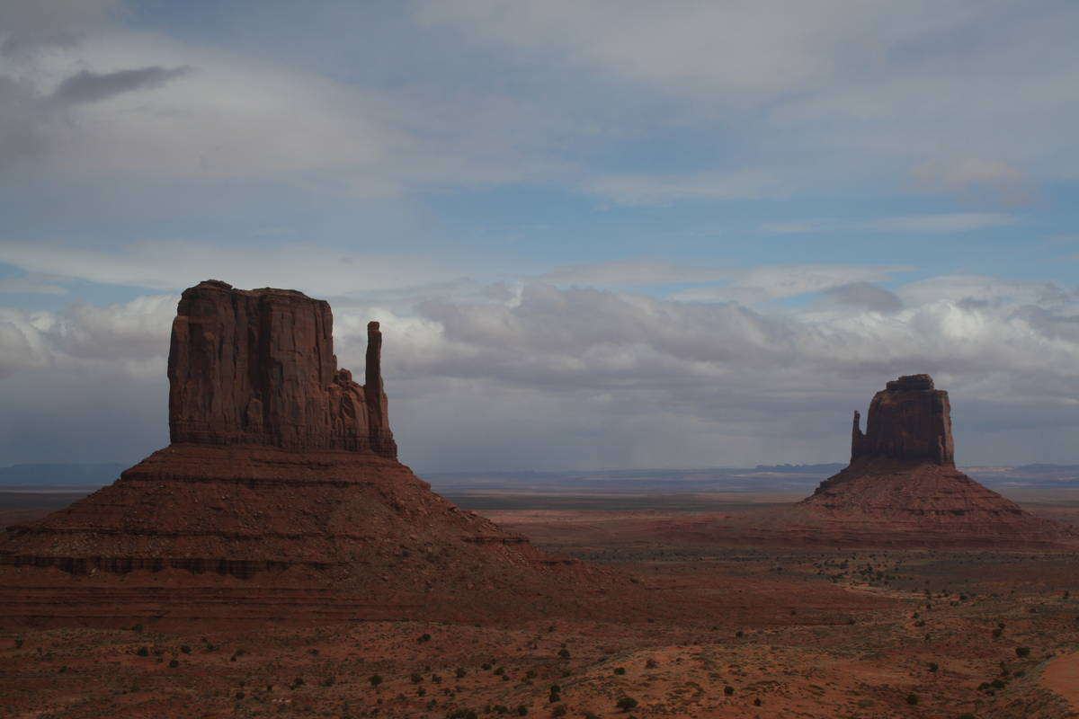 (Deborah Wall) Monument Valley Navajo Tribal park is famous for its unique rock formations, suc ...