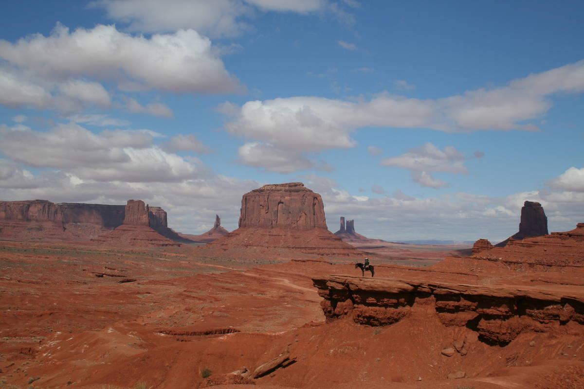 (Deborah Wall) Monument Valley encompasses 91,696 acres within the 16-million-acre Navajo Natio ...